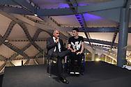 Massimo Giletti, Manuel Bortuzzo <br /> Roma 12-4-2019 Nuvola, Roma Convention Center <br /> Cena di Gala Formula E <br /> Photo Andrea Staccioli / Insidefoto