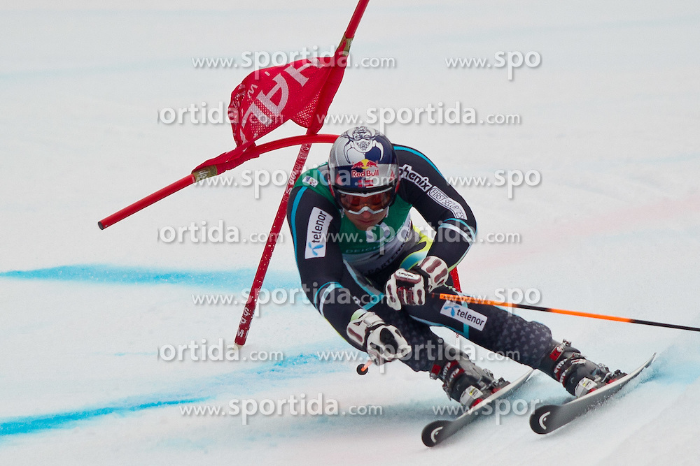 18.02.2011, Kandahar, Garmisch Partenkirchen, GER, FIS Alpin Ski WM 2011, GAP, Herren, Riesenslalom, im Bild Aksel Lund Svindal (NOR) // Aksel Lund Svindal (NOR) during men's Giant Slalom Fis Alpine Ski World Championships in Garmisch Partenkirchen, Germany on 18/2/2011. EXPA Pictures © 2011, PhotoCredit: EXPA/ J. Groder