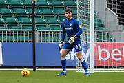 Forest Green Rovers goalkeeper James Montgomery during the EFL Sky Bet League 2 match between Newport County and Forest Green Rovers at Rodney Parade, Newport, Wales on 26 December 2018.