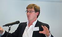 ZANDVOORT - GOLF -Jonathan Smith  (GEO).  DTRF (Dutch Turfgrass Research Foundation)  congres. COPYRIGHT KOEN SUYK
