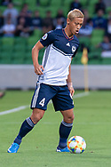 MELBOURNE, VIC - MARCH 05: Keisuke Honda (4) of Melbourne Victory controls the ball during the AFC Champions League soccer match between Melbourne Victory and Daegu FC on March 05, 2019 at AAMI Park, VIC. (Photo by Speed Media/Icon Sportswire)