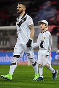 04.02.2017; Basel; Fussball Super League - FC Basel - FC Lugano; Feature Escort Kids<br /> (Steffen Schmidt/freshfocus)