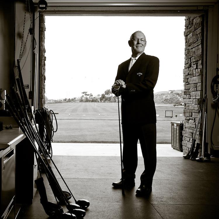 Portrait of Richard Helmstetter. Photographed in Carlsbad, California on January 6, 2011. Photograph © 2010 Darren Carroll