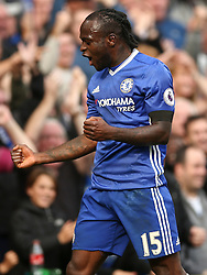Goal, Victor Moses of Chelsea scores, Chelsea 3-0 Leicester City - Mandatory by-line: Jason Brown/JMP - 15/10/2016 - FOOTBALL - Stamford Bridge - London, England - Chelsea v Leicester City - Premier League