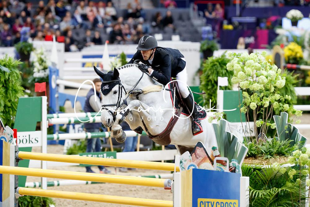 Staut Kevin, (FRA), Unna De Kerkglenn<br /> Gothenburg Horse Show FEI World Cups 2017<br /> &copy; Hippo Foto - Stefan Lafrentz