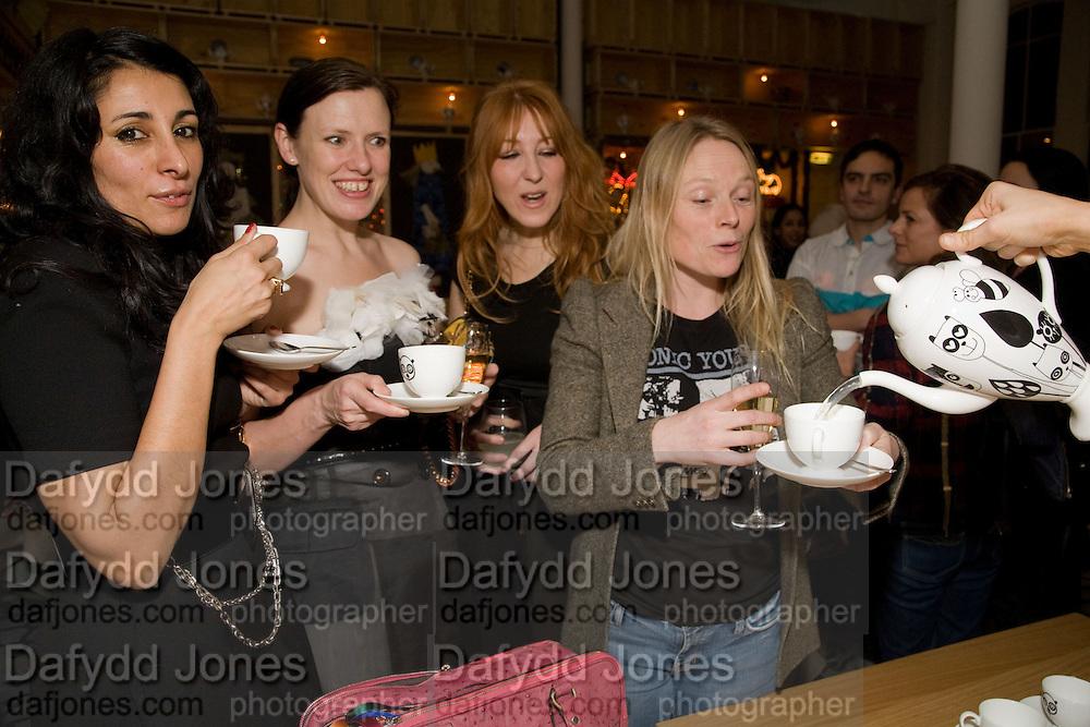 SERENA REES; KATIE GRAND; CHARLOTTE TILBURY;  LUELLA BARTLEY, Kate Grand hosts a Love Tea and Treasure hunt at Flash. Royal Academy. Burlington Gardens. London. 10 december 2008 *** Local Caption *** -DO NOT ARCHIVE-© Copyright Photograph by Dafydd Jones. 248 Clapham Rd. London SW9 0PZ. Tel 0207 820 0771. www.dafjones.com.<br /> SERENA REES; KATIE GRAND; CHARLOTTE TILBURY;  LUELLA BARTLEY, Kate Grand hosts a Love Tea and Treasure hunt at Flash. Royal Academy. Burlington Gardens. London. 10 december 2008