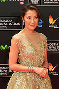 20.SEPTEMBER.2013. KURSAAL<br /> <br /> DAVID BYRNE, OLIVER STONE, ANETTE BENING, MICHELLE YEOH, TERRY GILLIAM AND HIROKAZU KOREEDA ATTEND THE INAUGURATION GALA OF THE 61TH SAN SABASTIAN FILM FESTIVAL AT KURSAAL. <br /> <br /> BYLINE: EDBIMAGEARCHIVE.CO.UK<br /> <br /> *THIS IMAGE IS STRICTLY FOR UK NEWSPAPERS AND MAGAZINES ONLY*<br /> *FOR WORLD WIDE SALES AND WEB USE PLEASE CONTACT EDBIMAGEARCHIVE - 0208 954 5968*