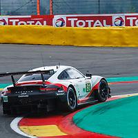 #91, Porsche GT Team, Porsche 911 RSR, LMGTE Pro, driven by: Richard Lietz, Gianmaria Bruni at FIA WEC Spa 6h 2019 on 01.05.2019 at Circuit de Spa-Francorchamps, Belgium