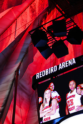 NORMAL, IL - December 16: Redbird Arena during a college women's basketball game between the ISU Redbirds and the Maryville Saints on December 16 2018 at Redbird Arena in Normal, IL. (Photo by Alan Look)