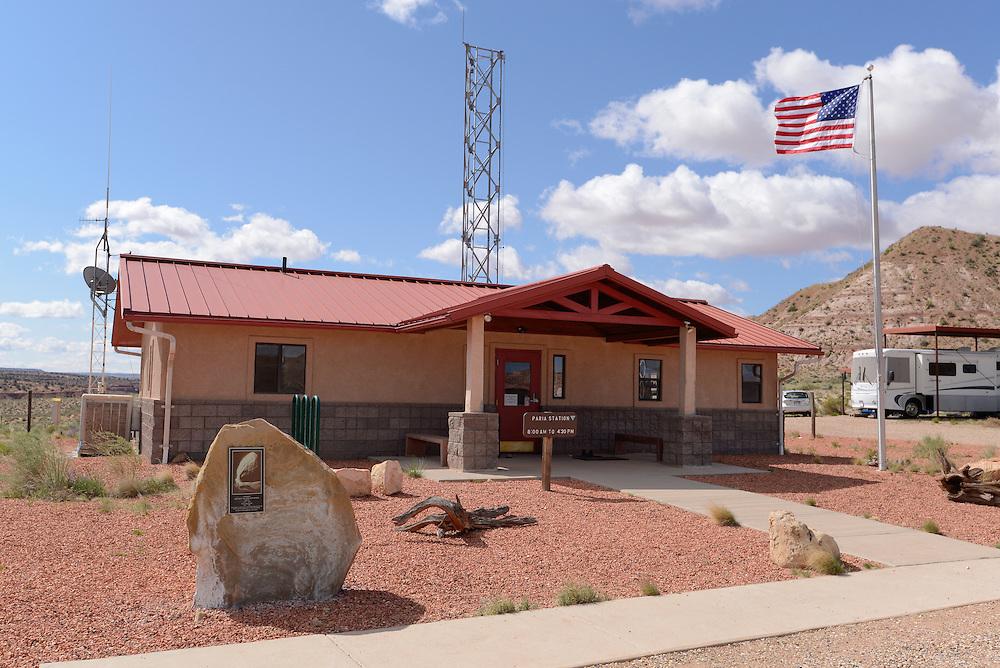 Paria Contact Station (Ranger Station), Southern Utah.