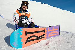 PAPARA Mihaita, Banked Slalom, 2015 IPC Snowboarding World Championships, La Molina, Spain