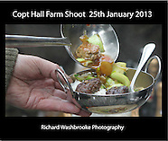 Copt Hall Farm Shoot  25th January 2013