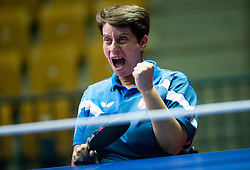 Peric-Rankovic Borislava of Serbia plays final match during Day 4 of SPINT 2018 - World Para Table Tennis Championships, on October 20, 2018, in Arena Zlatorog, Celje, Slovenia. Photo by Vid Ponikvar / Sportida