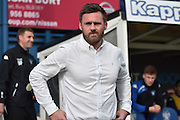 Scunthorpe United Manager, Graham Alexander during the EFL Sky Bet League 1 match between Bury and Scunthorpe United at the JD Stadium, Bury, England on 1 October 2016. Photo by Mark Pollitt.