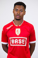 Standard's Beni Badibanga pictured during the 2015-2016 season photo shoot of Belgian first league soccer team Standard de Liege, Monday 13 July 2015 in Liege.