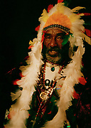 Lee Perry at Palm Pictures London Office 1997