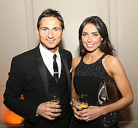The Football Extravaganza celebrating 20 years of the Premier League, in aid of Nordoff Robbins. Frank Lampard and fiance Christine Bleakley..Wednesday, April.11, 2012 (Photo/John Marshall JME)