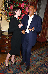 Emerging actress REBECCA OLDFIELD and her uncle BRUCE OLDFIELD at the Bruce Oldfield Crimestoppers Party held at Spencer House, 27 St.James's Place, London SW1 on 22nd September 2005.<br /><br />NON EXCLUSIVE - WORLD RIGHTS
