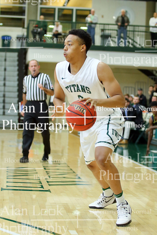 07 December 2016:  Miles Curry during an NCAA men's division 3 CCIW basketball game between the North Park Vikings and the Illinois Wesleyan Titans in Shirk Center, Bloomington IL