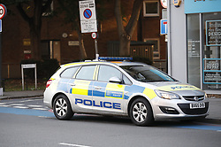 © Licensed to London News Pictures. 02/09/2018. London, UK. The scene where a 16-year-old boy was shot in the early hours of this moring in York Road, Wandsworth, south London. . The teenager suffered gunshot wounds and was rushed to a south London hospital, where his is condition is thought to be critical. . Photo credit: Peter Macdiarmid/LNP
