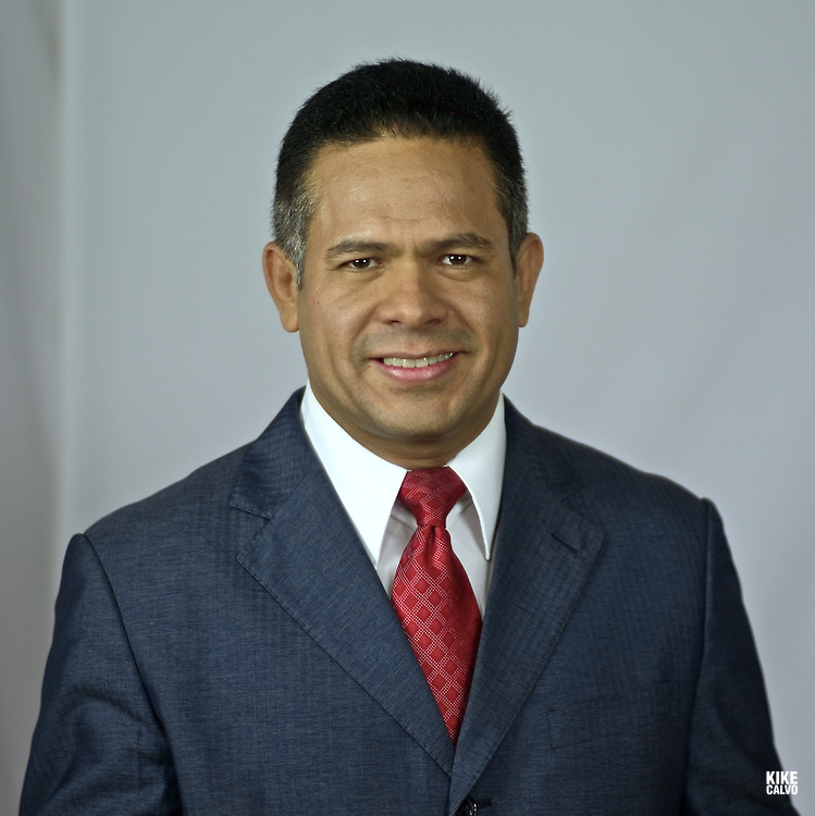 Journalist Hugo Famania. Anchor of Panamenian talk show ¨Debate Abierto¨
