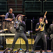 WASHINGTON, DC - January 29th, 2016 - Nils Lofgren, Max Weinberg, Jake Clemons, Bruce Springsteen and Steven Van Zandt perform at the Verizon Center during Springsteen's The River 2016 Tour. Springsteen and the E Street Band are performing the seminal 1980 album in full on the tour. (Photo by Kyle Gustafson / For The Washington Post)