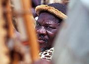 Zulu warrior iready for battle..©Zute Lightfoot.DVD0018
