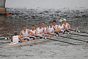 Boston, USA, Men's Eights,  Eliot Bridge, competing in the Head of the Charles, Race Charles River,  Cambridge,  Massachusetts. Saturday  20/10/2007  [Mandatory Credit Peter Spurrier/Intersport Images]...... , Rowing Course; Charles River. Boston. USA
