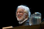 Roma, 30/10/2012:  Seminario con Luca Ronconi al Teatro Valle Occupato