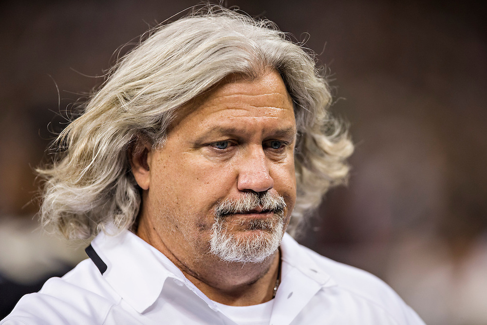NEW ORLEANS, LA - OCTOBER 27:  Defensive Coordinator Rob Ryan of the New Orleans Saints on the sidelines during a game against the Buffalo Bills at Mercedes-Benz Superdome on October 27, 2013 in New Orleans, Louisiana.  The Saints defeated the Bills 35-14.  (Photo by Wesley Hitt/Getty Images) *** Local Caption *** Rob Ryan