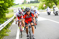Moinard Amael - Bmc - 17.05.2015 - Tour d'Italie - Etape 09 : Benevento - San Giorgio del Sannio<br />