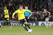 Gaston Ramirez of Middlesbrough during the Sky Bet Championship match between Burnley and Middlesbrough at Turf Moor, Burnley, England on 19 April 2016. Photo by Simon Brady.