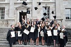 Graduations Photographer at Trinity College Dublin, Ireland.