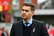 Grimsby Town manager Michael Jolley before the EFL Sky Bet League 2 match between Exeter City and Grimsby Town FC at St James' Park, Exeter, England on 29 December 2018.