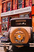 Historic Ford car, Silverton, Colorado