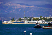 The port town of Patras,  Peloponnese, Greece