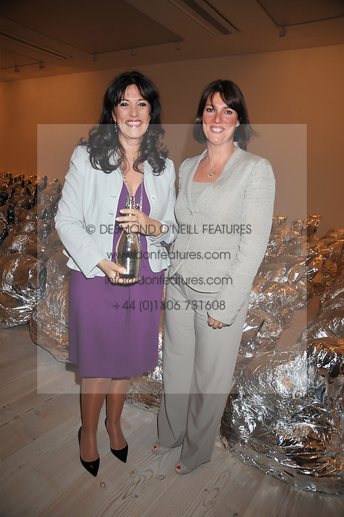 Left to right, GAIL REBUCK and CAROLYN MCCALL 2008 winner at the presentation of the Veuve Clicquot Business Woman Award 2009 hosted by Graham Boyes MD Moet Hennessy UK and presented by Sir Trevor Macdonald at The Saatchi Gallery, Duke of York's Square, Kings Road, London SW1 on 28th April 2009.