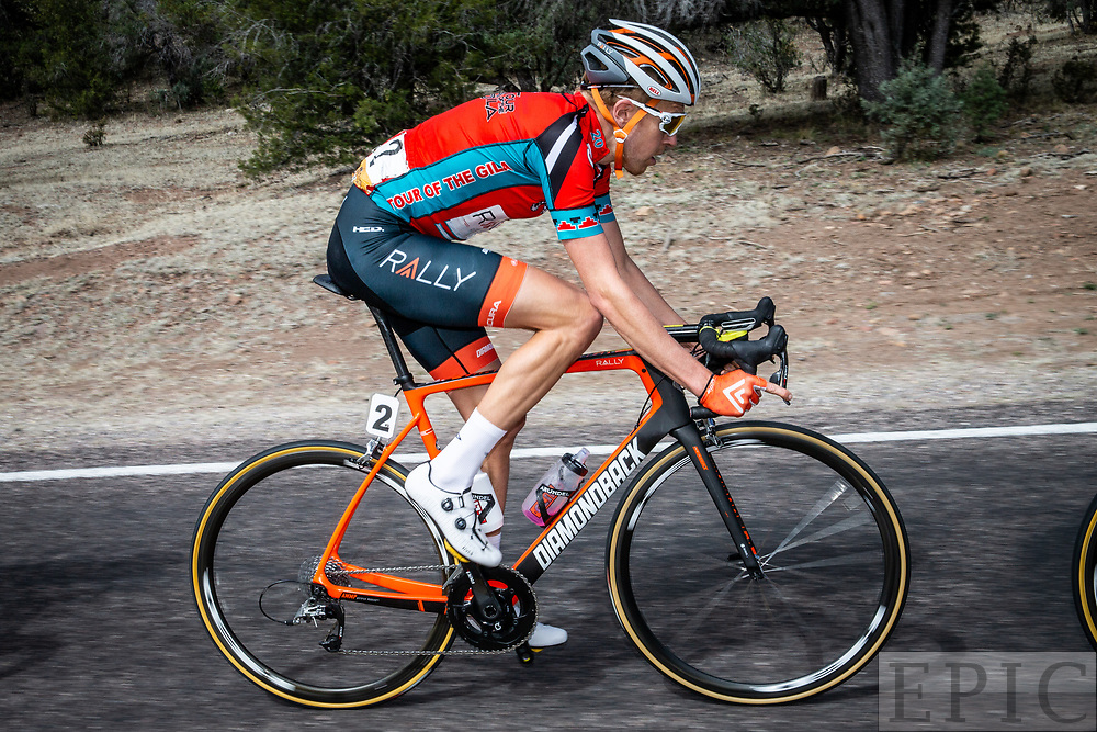 SILVERY CITY, NM - APRIL 22: Robert Britton (Rally Cycling) rides during stage 5 of the Tour of The Gila on April 22, 2018 in Silver City, New Mexico. (Photo by Jonathan Devich/Epicimages.us)
