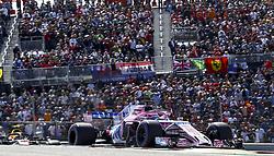 October 21, 2018 - Austin, United States - Motorsports: FIA Formula One World Championship; 2018; Grand Prix; United States, FORMULA 1 PIRELLI 2018 UNITED S GRAND PRIX , Circuit of The Americas#11 Sergio Perez (MEX, Sahara Force India F1 Team) (Credit Image: © Hoch Zwei via ZUMA Wire)