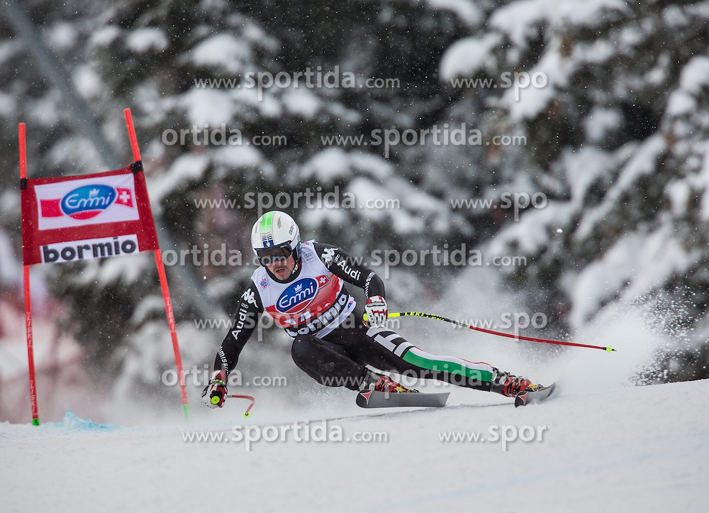 29.12.2013, Stelvio, Bormio, ITA, FIS Ski Weltcup, Bormio, Abfahrt, Herren, im Bild Peter Fill (ITA) // Peter Fill of Italy in action during mens downhill of the Bormio FIS Ski Alpine World Cup at the Stelvio Course in Bormio, Italy on 2013/12/29. EXPA Pictures © 2013, PhotoCredit: EXPA/ Johann Groder