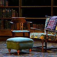 SHADOWLANDS by Nicholson ;<br /> Empty chairs on set ;<br /> Directed by Rachel Kavanaugh ;<br /> Designed by Peter McKintosh ;<br /> Chichester Festival Theatre ;<br /> 1st May 2019 ;<br /> © Pete Jones<br />pete@pjproductions.co.uk