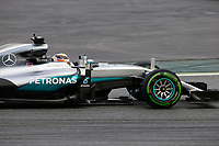 HAMILTON Lewis (gbr) Mercedes GP MGP W07 action during Formula 1 winter tests 2016 at Barcelona, Spain from February 22 to 25 - Photo Florent Gooden / DPPI
