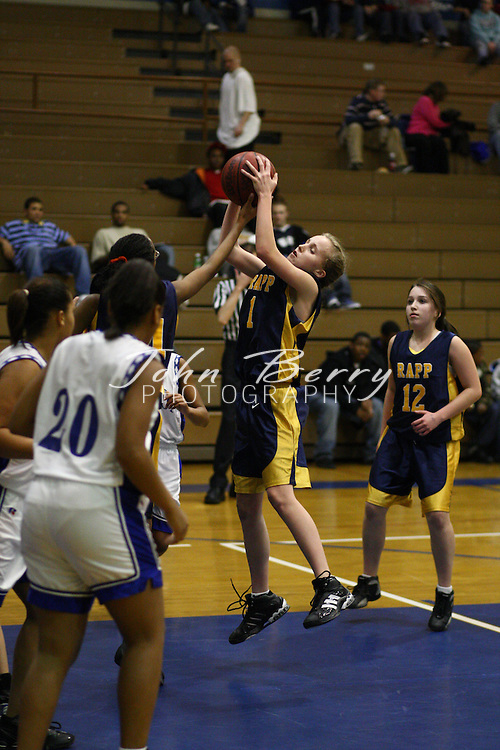 MCHS JV Girls Basketball.vs Rappahannock.2/4/2008..