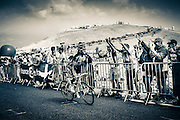 Thomas Voeckler riding to the finish during Mont Ventoux stage, TDF 2013