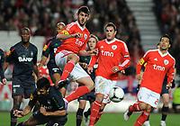 20120205: LISBON, PORTUGAL – Portuguese Bwin League Cup 2011/2012: SL Benfica vs CS Maritimo. In Picture: Nelson Oliveira<br />PHOTO: Alvaro Isidoro/CITYFILES