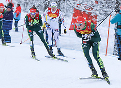 16.12.2017, Nordische Arena, Ramsau, AUT, FIS Weltcup Nordische Kombination, Langlauf, im Bild Eric Frenzel (GER) // Eric Frenzel of Germany during Cross Country Competition of FIS Nordic Combined World Cup, at the Nordic Arena in Ramsau, Austria on 2017/12/16. EXPA Pictures © 2017, PhotoCredit: EXPA/ Martin Huber