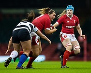 Gwenllian Pyrs of Wales<br /> <br /> Photographer Simon King/Replay Images<br /> <br /> Friendly - Wales v Barbarians - Saturday 30th November 2019 - Principality Stadium - Cardiff<br /> <br /> World Copyright © Replay Images . All rights reserved. info@replayimages.co.uk - http://replayimages.co.uk