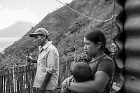 Masons in Tzununa, Guatemala
