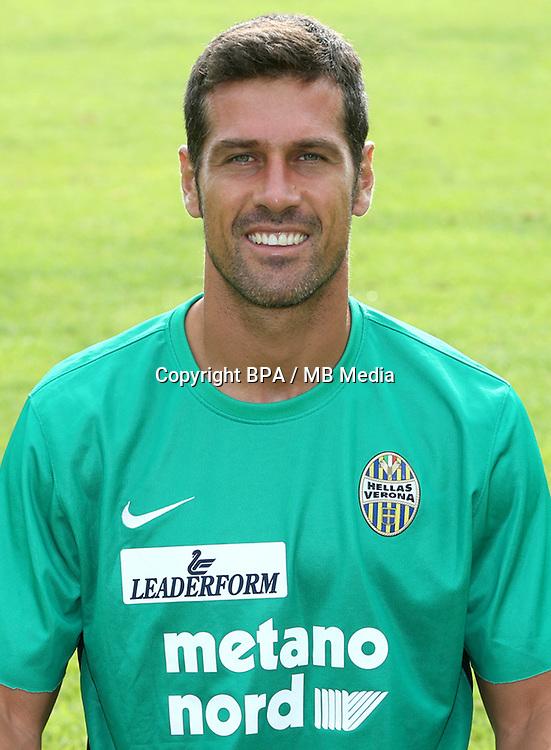 Italian League Serie A -2015-2016 / <br /> ( Hellas Verona FC ) - <br /> Ferdinando Coppola