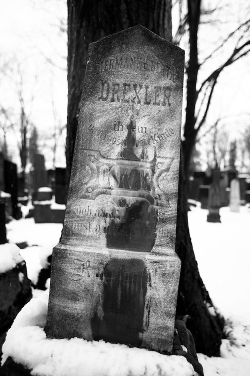 The Jewish cemetery in Brno, Czech Republic is the oldest central European Jewish cemetery left standing.